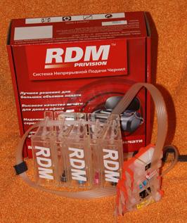 СНПЧ Canon RDM для CANON MP540, MP550, MP560, MP620, MP630, MP640 MX860, MP980, MX990