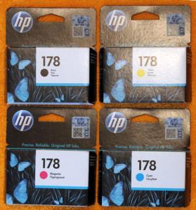 Картриджи HP 178