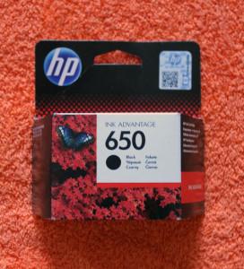 Картридж HP 650 черный