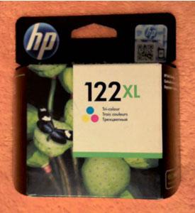 Картридж HP 122XL цветной