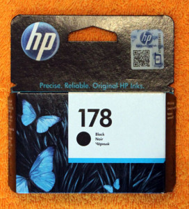 Картридж HP 178 черный