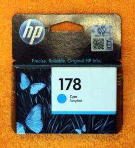 Картридж HP 178 синий