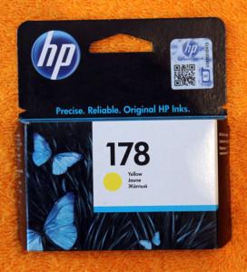 Картридж HP 178 желтый