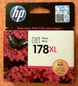 Картридж HP 178XL черный