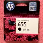 Картридж HP 655 черный