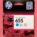 Картридж HP 655 cyan