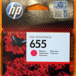 Картридж HP 655 magenta