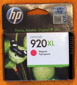 Картридж HP 920XL Magenta
