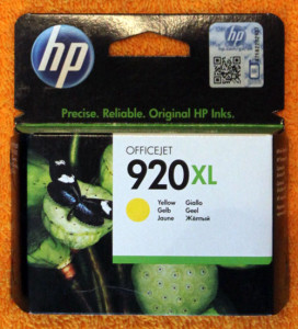 Картридж HP 920XL Yellow