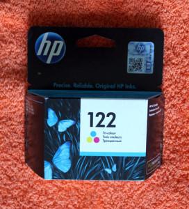 Картридж HP 122 цветной