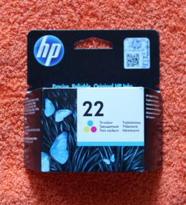 Картридж HP 22 цветной