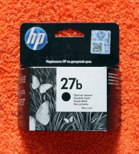 Картридж HP 27b