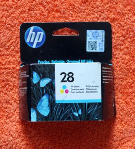Картридж HP 28 цветной