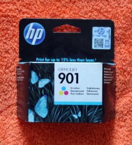 Картридж HP 901 цветной