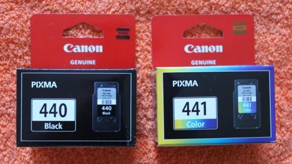 Как заправить картриджи Canon PG-440, CL-441