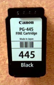 Заправка картриджа Canon 445
