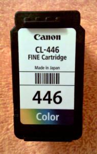 Заправка картриджа Canon 446