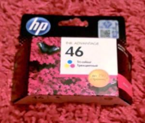 Цветной картридж HP 46