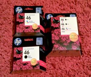 Картриджи HP 46