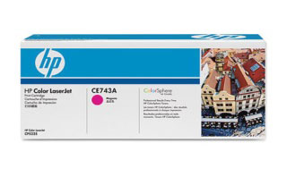 Заправка картриджей HP CE743A