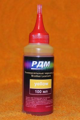 Универсальные-чернила-BROTHER-Yellow